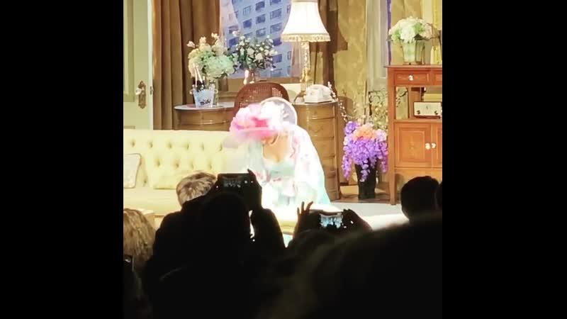 Сара Джессика Паркер и Мэттью Бродерик в новой бродвейской пьесе Plaza Suite