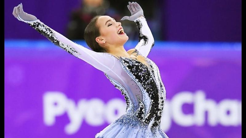 ALINA ZAGITOVA - Olympics 2018 SP NBC | короткая программа на Олимпиаде с переводом комментариев NBC