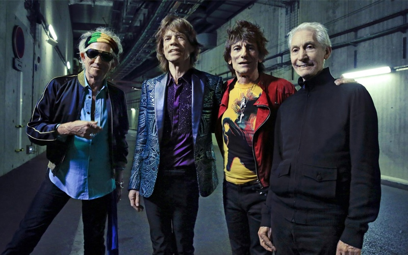 The Rolling Stones ''Living In A Ghost Town''