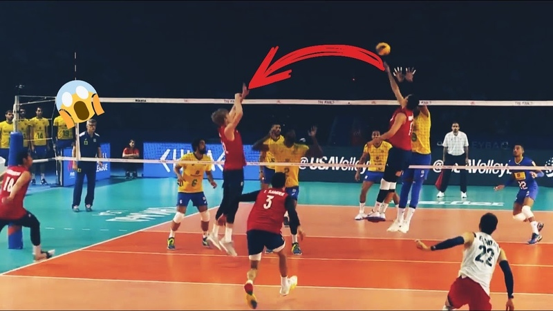 Top 30 One Hand Set in Volleyball Awesome Volleyball