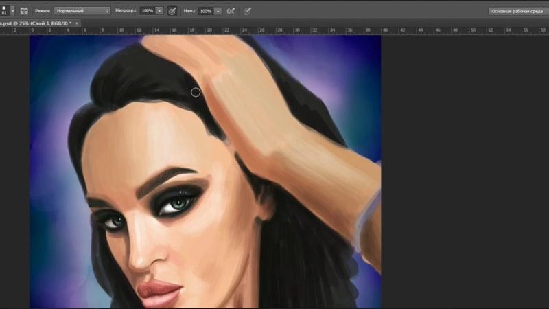 Digital art портрет
