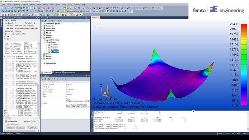 How to debug your Femap Model PART 6 Strange deformations