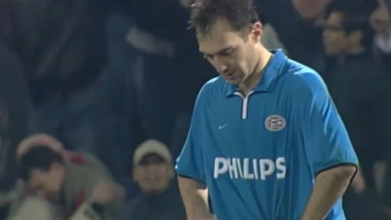 Feyenoord PSV UEFA Cup Quarter Final 21 3 2002