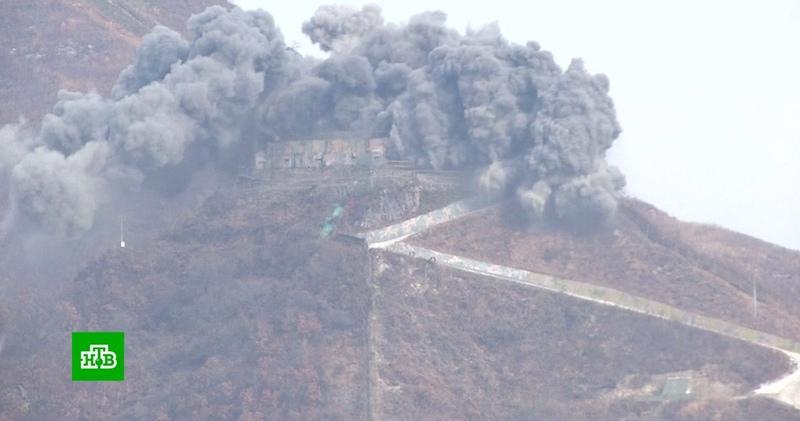 Южная Корея и КНДР приступили к ликвидации пограничных постов