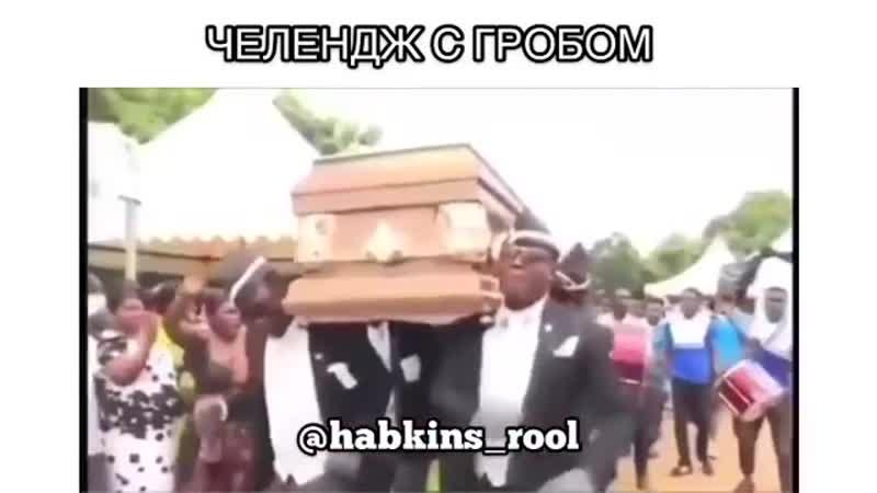 челлендж с гробом