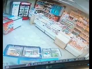 Разбойное нападение на магазин