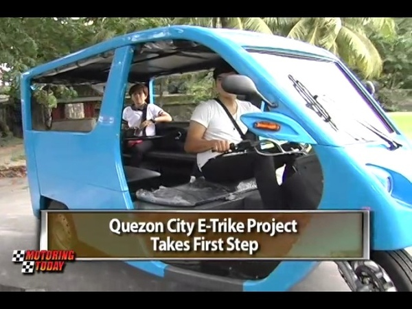 Quezon City E Trike Project Takes First Step Motoring Review