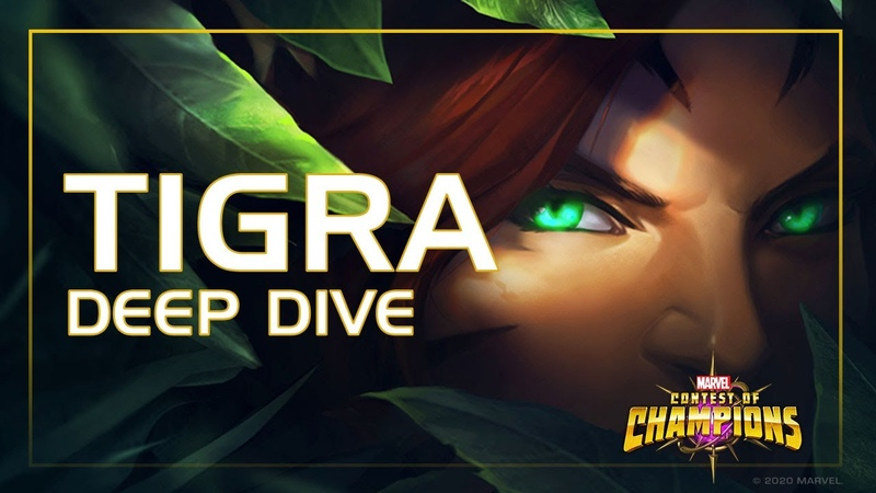 Tigra Deep Dive The Damaging Claws of Rapture Marvel Contest of Champions