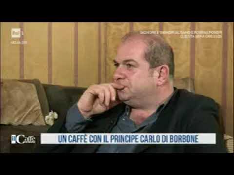 Intervista di S.A.R. il Principe Carlo di Borbone delle Due Sicilie- Il Caffé di Rai Uno