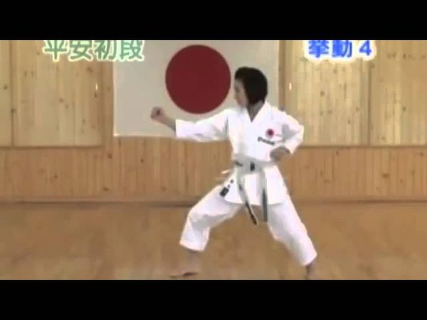 JKA Heian Shodan by Aragaki Misako