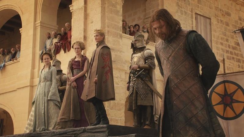 Казнь Эддарда Старка Игра престолов