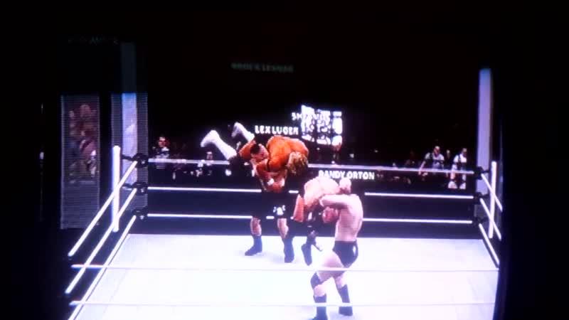 WWE2K16 Elimination Chamber Sheamus Brock Lesnar Ultimate Warrior vs Lex Luger DDP Randy Orton.Шеймус.11DeadFace