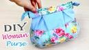 DIY PURSE BAG CUTE DESIGN FROM SCRATCH EASY Zipper Bag