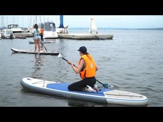 Сапсерфинг: как появился, как встать на доску и как правильно поймать волну