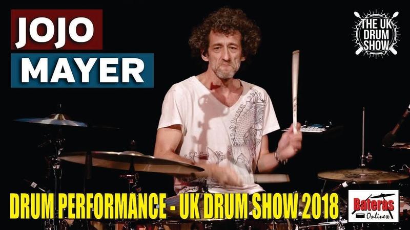 JOJO MAYER Drum Performance UK Drum Show 2018 Sonor Drums Sabian Cymbals Vic Firth Evans