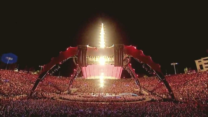 U2 Where The Streets Have No Name Rose Bowl 360 Tour