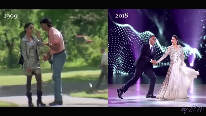 Акшай Кумар и Мадхури Дикшит 19 лет спустя.