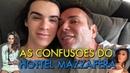 VLOG: AS CONFUSÕES DO HOTTEL MAZZAFERA COM RAFAEL UCCMAN, IZA GOULART E MC POCAHONTAS