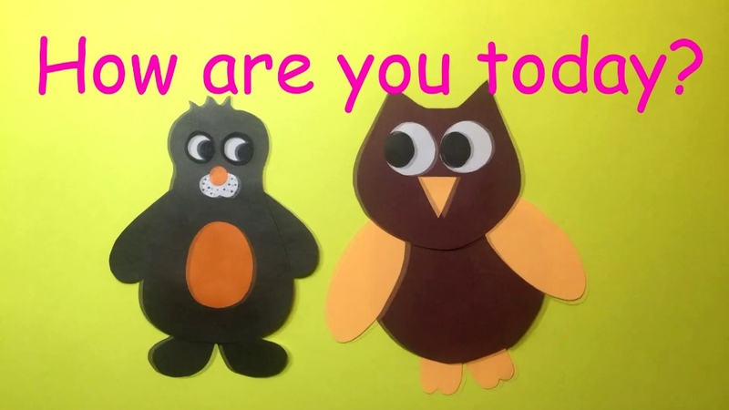 HOW ARE YOU TODAY? A SHORT DIALOGUE FOR CHILDREN TO TALK ABOUT FAVORITE FOOD FREE TIME ACTIVITIES.