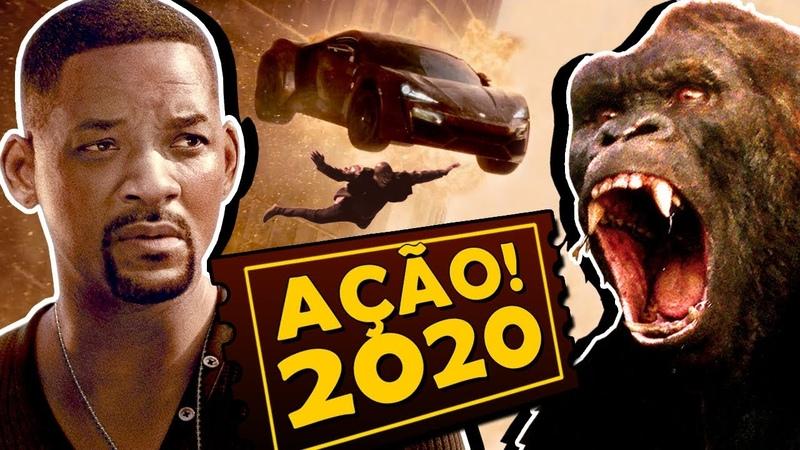 8 FILMES DE AÇÃO MAIS ESPERADOS DE 2020