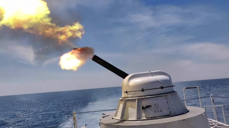 Морські прикордонники відпрацювали комплекс артилерійських стрільб