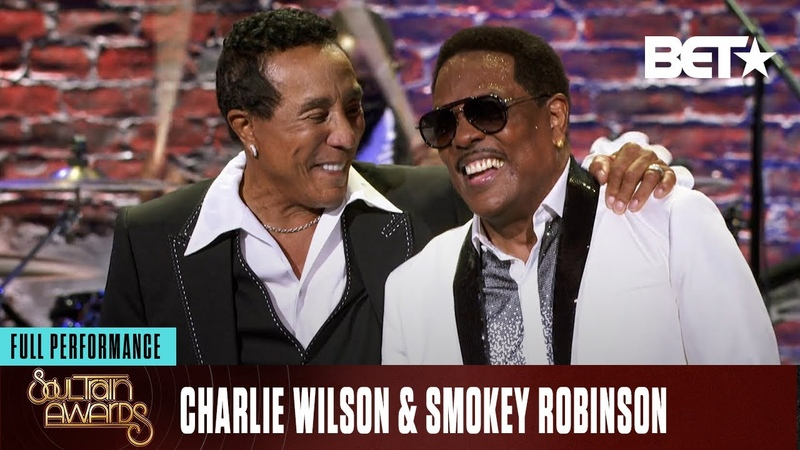 Charlie Wilson Smokey Robinson Perform 'All My Love ' More Soul Train Awards 20