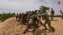 Морпехи 503 отдельного батальона получили штормовые береты