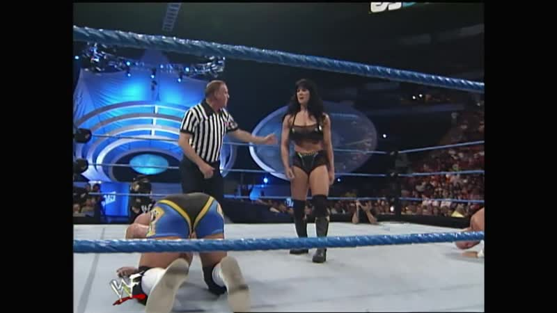 WWF SmackDown 16 09 1999 Chyna Mr Ass vs the Hollys