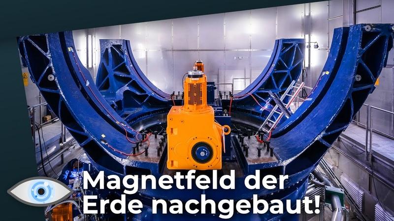 Dresdner Höllenmaschine Planeten Experiment reproduziert Magnetfeld der Erde