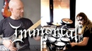 Immortal Cover With Bobnar Simon - The Unsilent Storms In The North Abyss