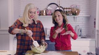 Cooking with Gwen Stefani & Giada De Laurentiis at Williams Sonoma