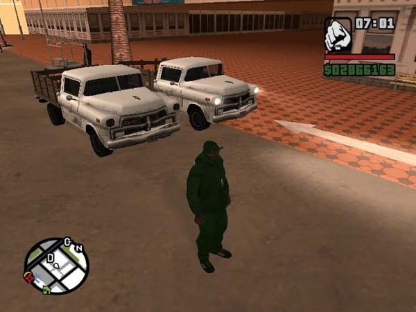GTA San Andreas Эпизод 33 Спасти бешеного кекса, захватить досье и самолет с наемными убийцами
