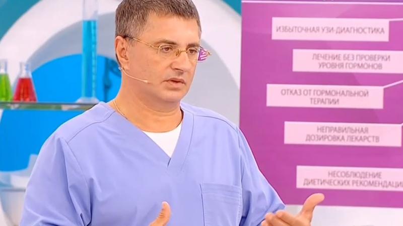 7 ошибок в лечении щитовидной железы Доктор Мясников