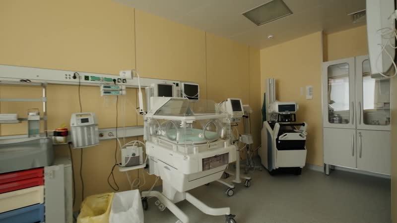 """Экскурсия по роддому клиники Скандинавия"""" во время пандемии"""