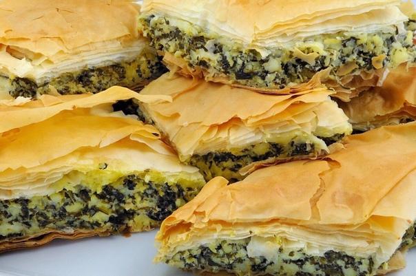 Крутейшая подборка очень вкусных пирогов ТОП-6 рецептов 1. СЫРНЫЙ ПИРОГ С МАСЛИНАМИИНГРЕДИЕНТЫ:Тесто:Масло сливочное(маргарин) - 150 грМука пшеничная 200 грСоль по вкусуВода ледяная 50