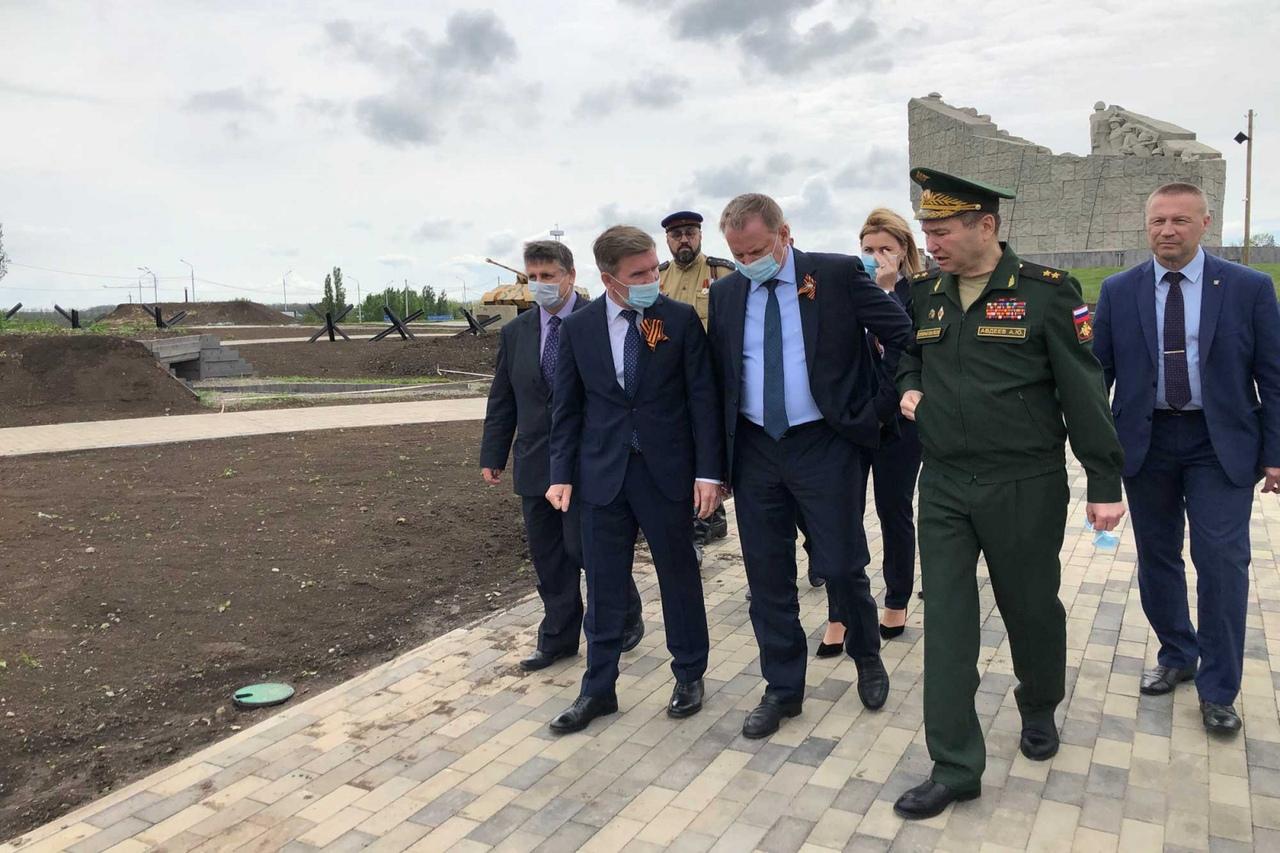 Под Таганрогом на «Самбекских высотах» захоронили 60 останков воинов, погибших в годы ВОВ