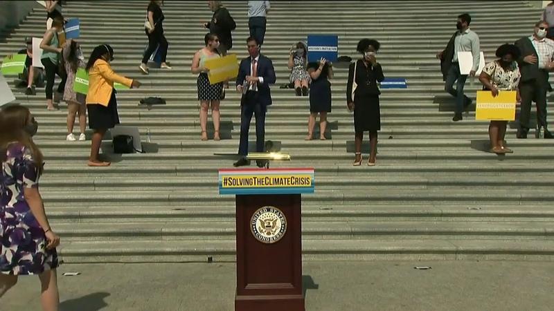 Speaker Nancy Pelosi Reveals Climate Crisis Action Plan LIVE NowThis