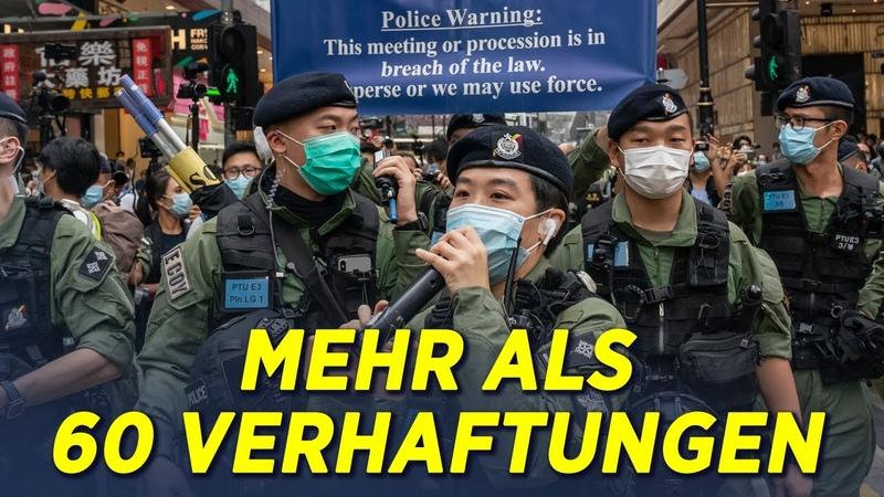 Mehr als 60 Festnahmen in Hongkong am Nationalfeiertag – Proteste auch in Berlin