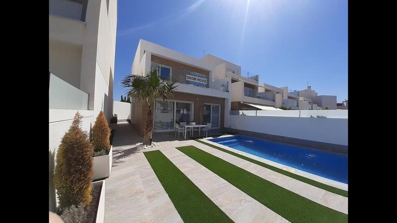 Maison témoin toute équipée meublée ✅ à vendre au sud de Alicante en Espagne