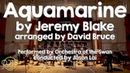 Aquamarine - Jeremy Blake, arranged by David Bruce