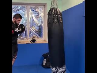 Хабиб Нурмагомедов: Тренировки очень хорошо снимают стресс и агрессию. Тренируйтесь и будьте добрее.