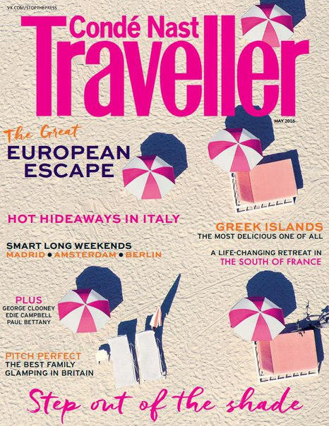 Conde Nast Traveller UK - May 2016 vk.com