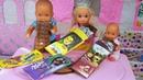 ШОКОЛАДКИ ДЛЯ КАТИ И МАКСА ВЕСЕЛОЙ СЕМЕЙКИ! Как сделать мини шоколадки для кукол ЛАЙФХАКИ Барби ЛОЛ