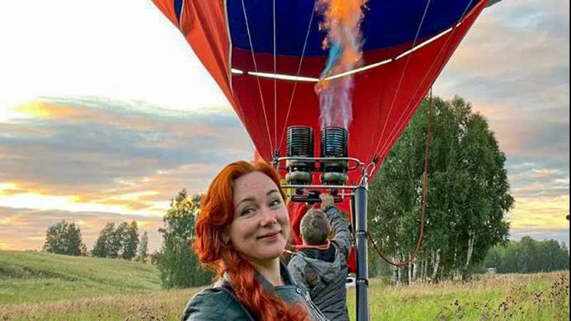Полет на воздушном шаре в Красноярске