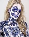 Визажист и дизайнер Vanessa Davis доказывает, что макияж – это искусство
