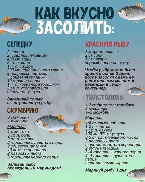 8 вкусных маринадов для рыбы