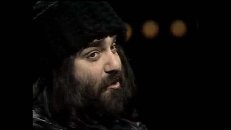 греческий певец Демис Руссос.