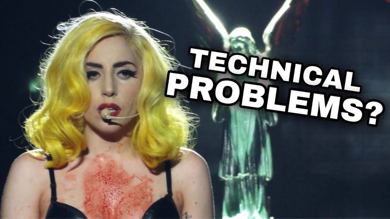 Lady Gaga Technical Difficulties ON STAGE Compilation 2020
