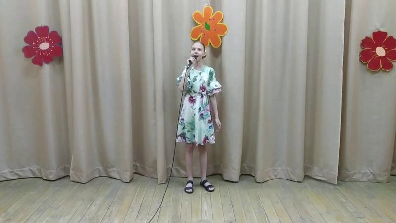 Жура Дарья г Мозырь 8 11 лет Эстрадный вокал