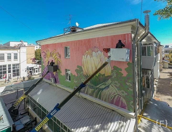 разукрасить стену на улице фото формирование